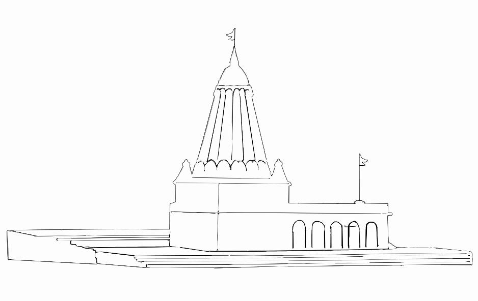 Hanuman Coloring Pages