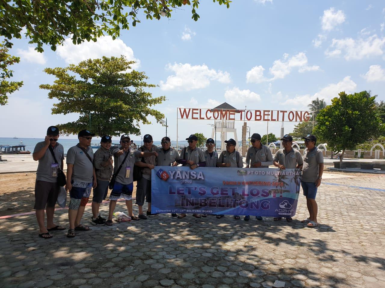 BELITUNG TOUR WITH YANSA GROUP OTO MULTIARTHA 12 - 14 SEPT 2018