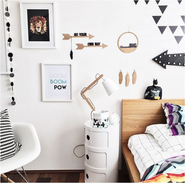Kids 39 rooms on instagram the boo and the boy kids for Bedroom ideas kmart
