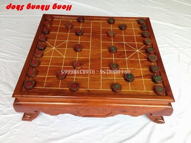 bo ban co tuong bang go huong dep
