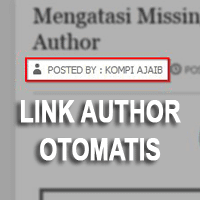 Link Author Profile Otomatis