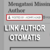 Membuat Link Author Profile Otomatis Di Blog