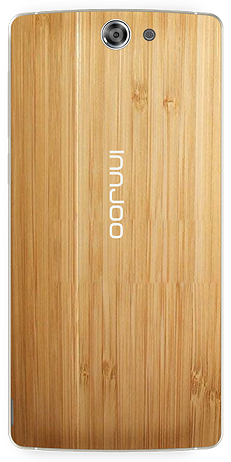 Innjoo Max showing wood textured back