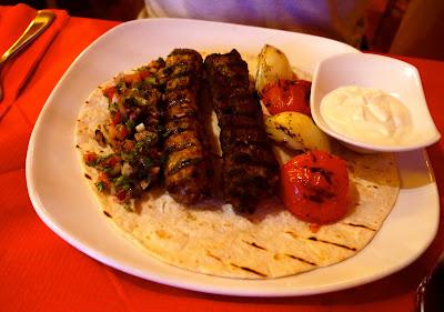 Kofta kebab, Mina, Cathays, Cardiff