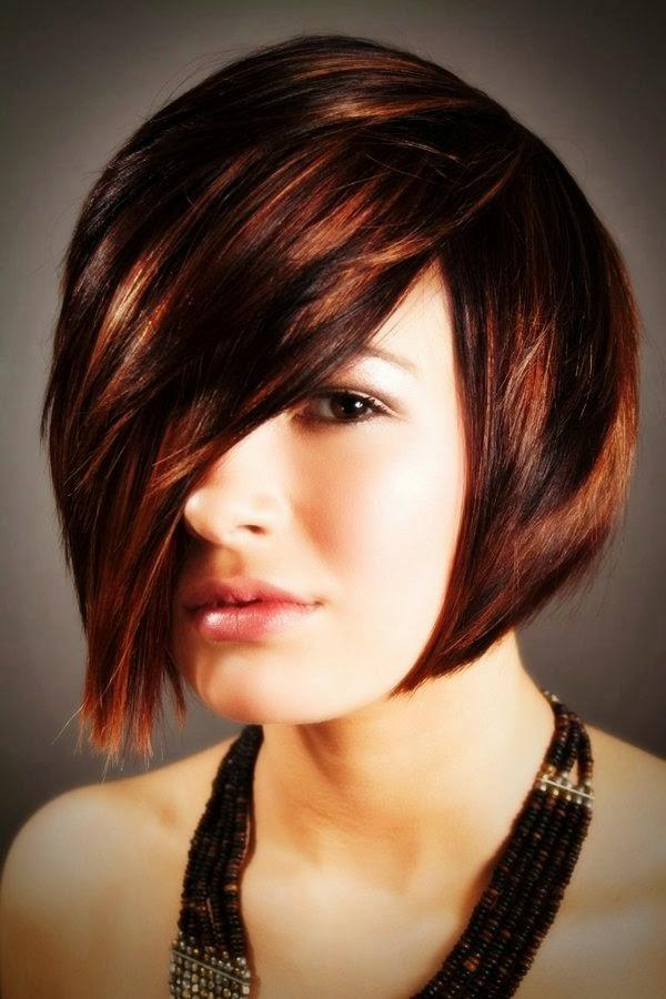untuk wajah bulat potongan rambut pendek terbaru untuk wajah bulat