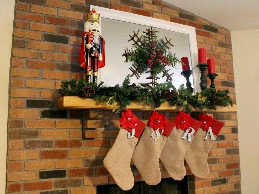 Christmas Mantle/Tree