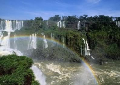 imágenes de paisajes con arcoiris bonitos