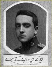Teniente Luis Andujar Gregorio de Tejada