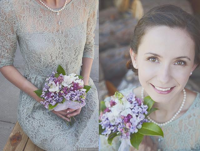 Green wedding dress; red mountain wedding photographer FRESH