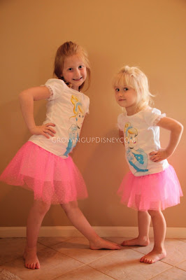 Growing Up Disney, Disney Princess, Disney clothes at Macy's, Cinderella tutu