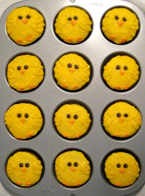 Easter Chick Cupcakes 1