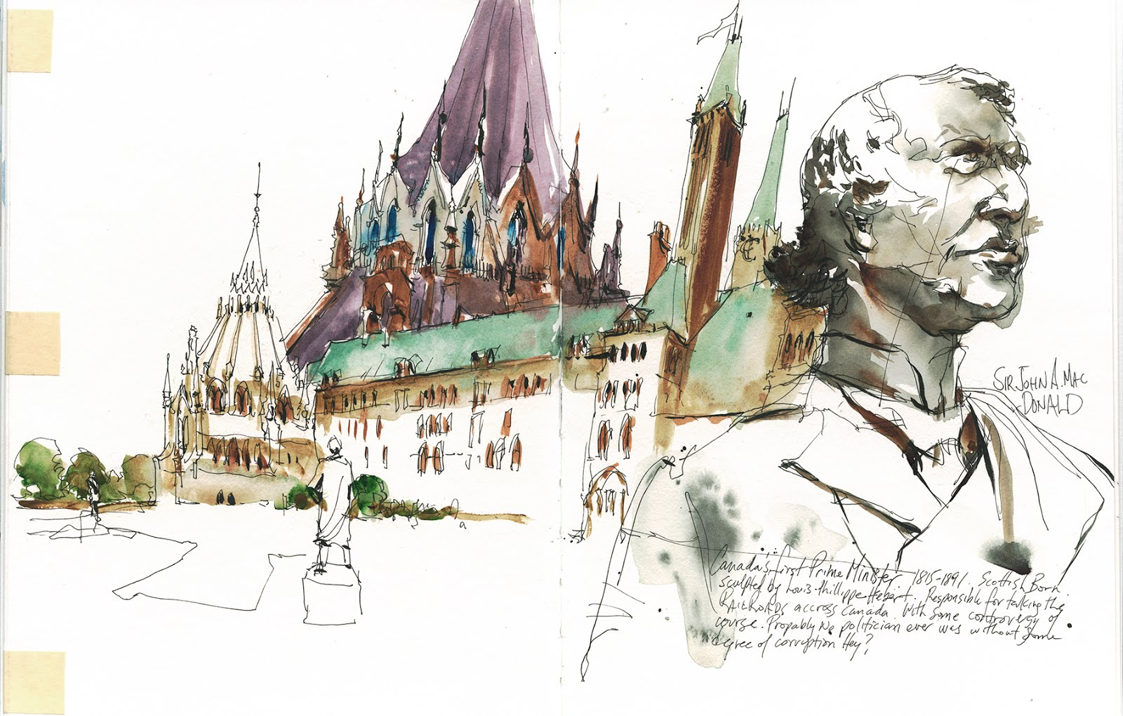 Workshop 10: Urban Sketching on Assignment: Planning & Executing ...