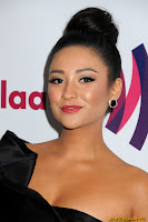 Shay Mitchell 22nd annual GLAAD Media Awards at Westin Bonaventure Hotel