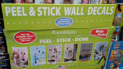 Roommates Mega Pack Peel And Stick Wall Decals – Removable and repositionable
