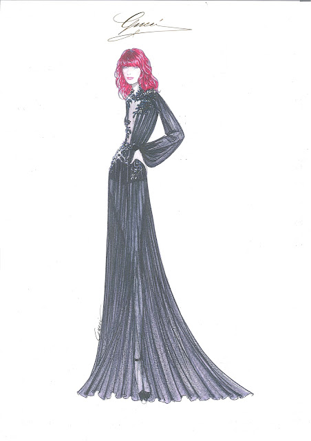 Gucci for Florence Welch's European Tour 'Ceremonials'