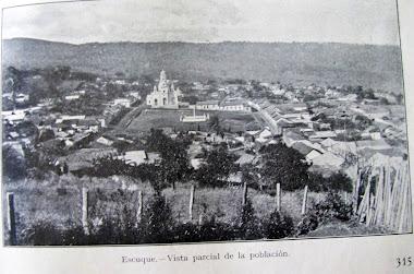 Panoramica de ESCUQUE en 1928