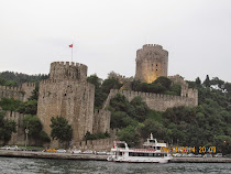Anadolu Fortress, Asian side of Istanbul, from Bosphorus Strait, Turkey