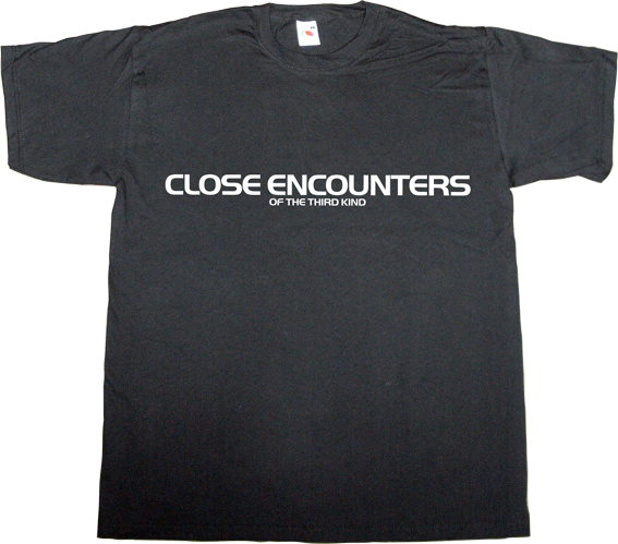 movie classics sci-fi retro vintage Close Encounters of the Third Kind t-shirt ephemeral-t-shirts