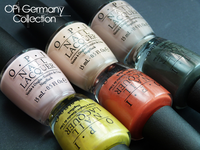 Lucy's Stash - OPI Germany Collection for F/W 2012 - Cremes