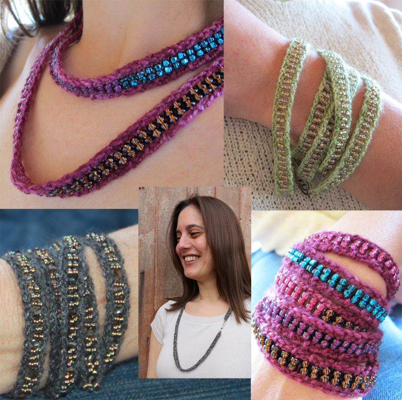 Nelkin Designs Blog: Adorn- A Knitted Jewelry Collection