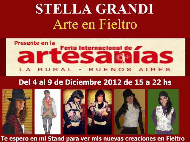 ARTE EN FIELTRO FERIA INTERNACIONAL DE ARTESANIAS 2012