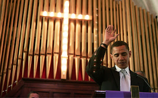 Obama and the cross