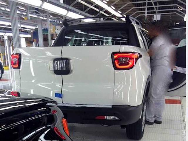 Fiat Toro - traseira