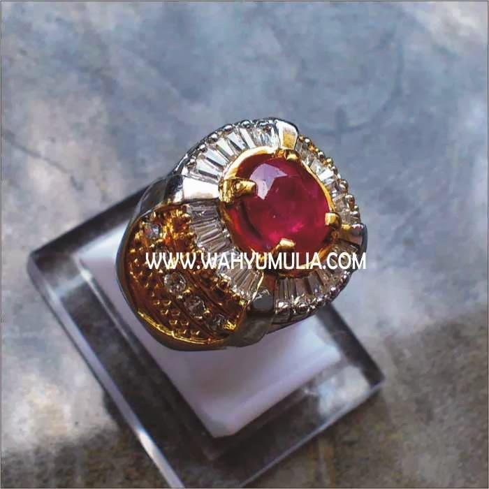Batu Permata Ruby SOLD