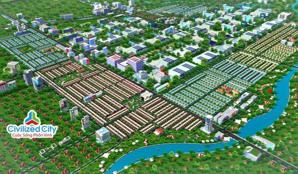 tổng thể dự án civilized city
