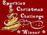 gewonnen bij Sparkles Christmas Chalenge