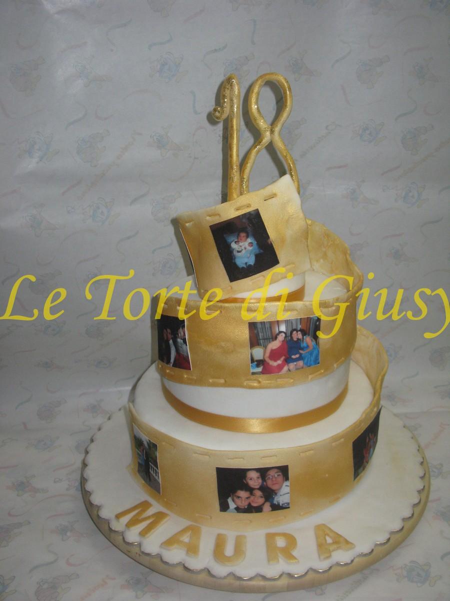 Le torte di giusy rende cosenza torta 18 anni maura for Torte 18 anni ragazzo