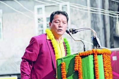 Bimal Gurung in Darjeeling