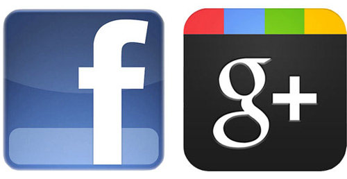 conectar facebook y google plus