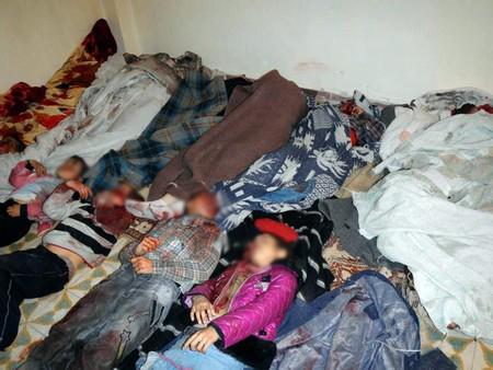 kejam]gambar 26 budak dan 17 wanita yang dibunuh tentera syria