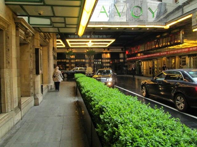 Lemon Verbena Lady\'s Herb Garden: High Tea at the Savoy, London ...