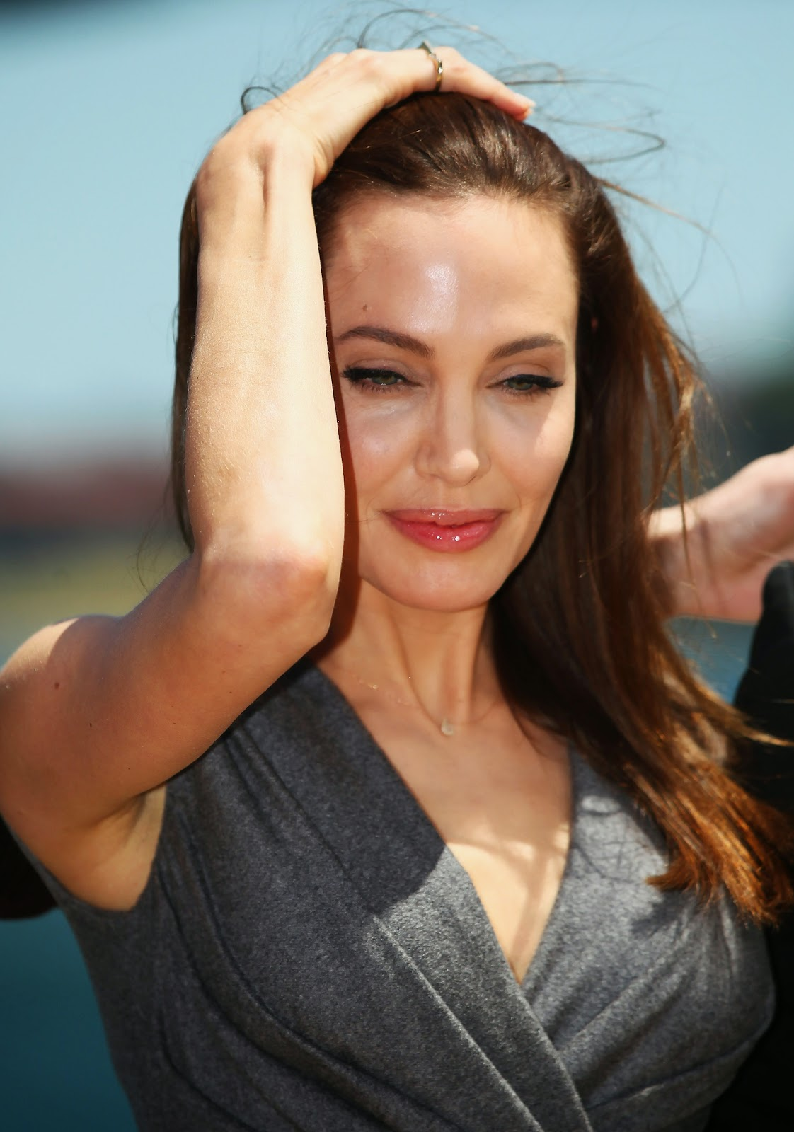 HD Images of Angelina Jolie 'Unbroken' Photocall in Sydney