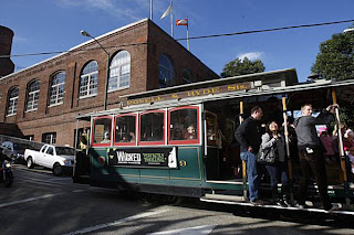 view of-san francisco-cablecar museum