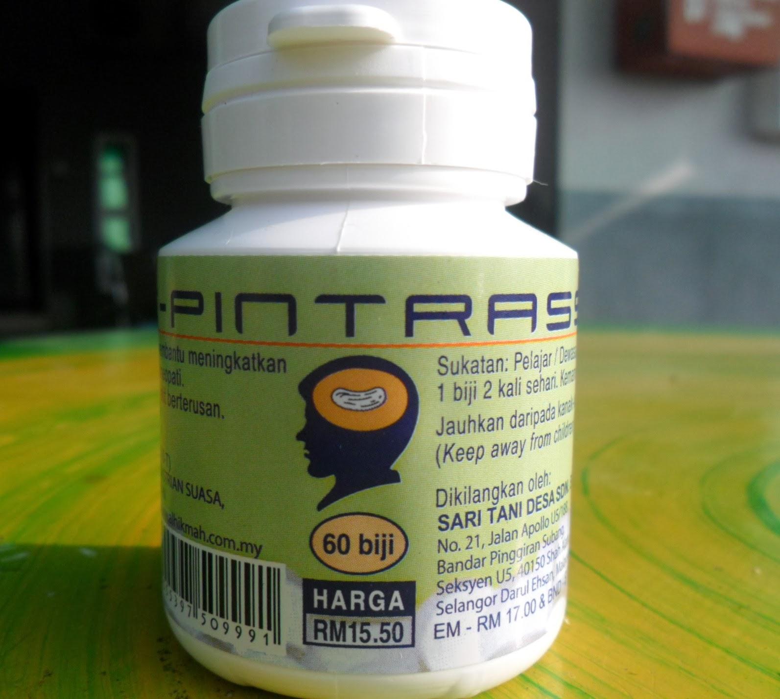 vitamin dan makanan minda cerdas