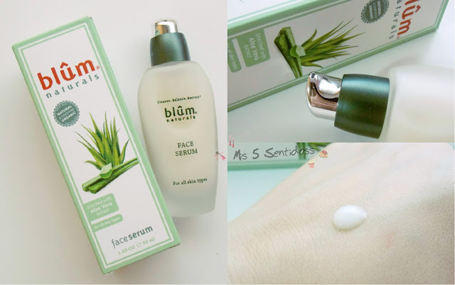 Iherb Blum Naturals, sérum de aloe vera
