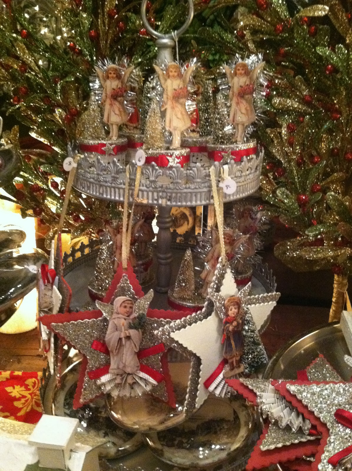 Jennifer 39 s ornaments remind me of victorian greeting cards for Victorian decor store