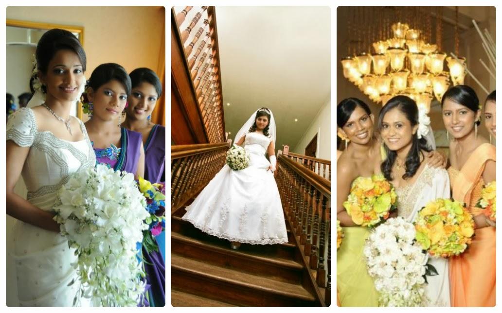 Sri Lanka Wedding Frocks Designs