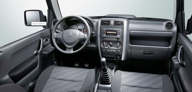 2015 Suzuki Jimny Interior