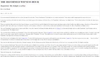 http://www.reformedwitnesshour.org/1997/1997may11.html