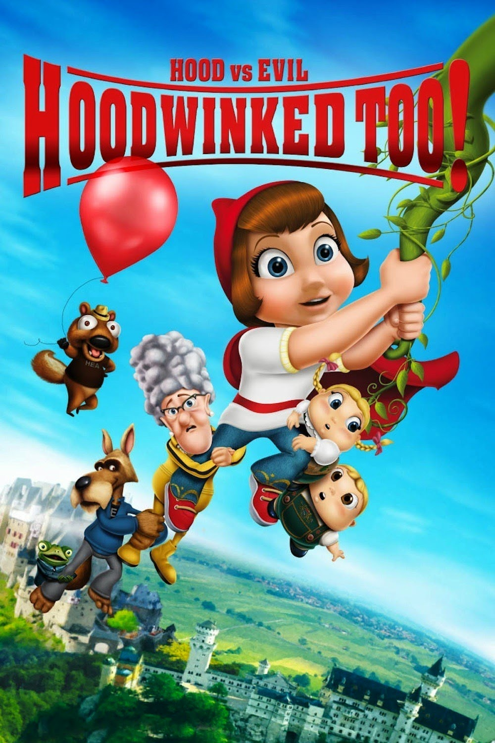 Hoodwinked Too! Hood Vs. Evil (2011) BluRay 720p