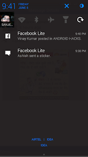 facebook-lite-app-push-notification-in-android-smartphone