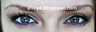 Delikatny makijaż z mocniej zaakcentowaną dolną powieką ;)
