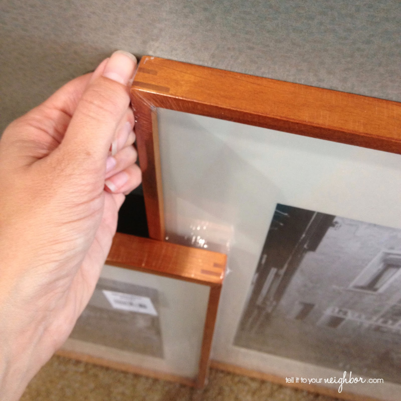 tell it to your neighbor!: A Nice Frame Ready-To-Go