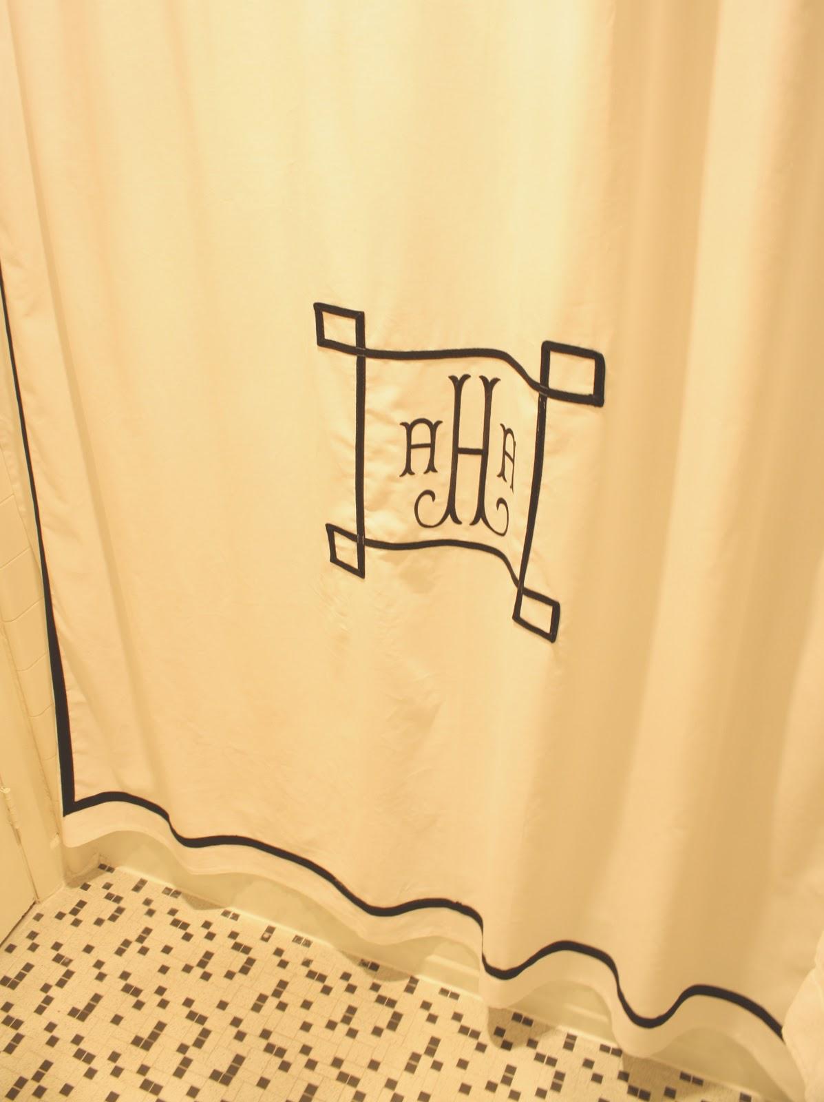 Meet Me In Philadelphia My Custom Monogrammed Shower Curtain