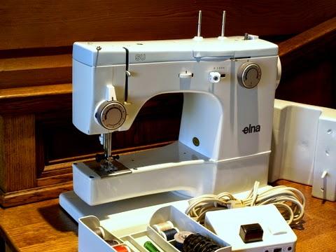 Tight Acres Elna SU 40C New Elna Su Sewing Machine