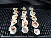 how to grill a raw oyster